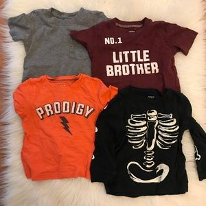Carter's Shirts & Tops - 4 Carter's 24 MOS Tees Bundle